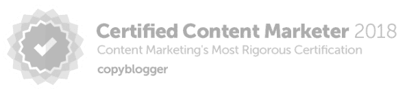 Certified Copyblogger Inbound Marketing Company