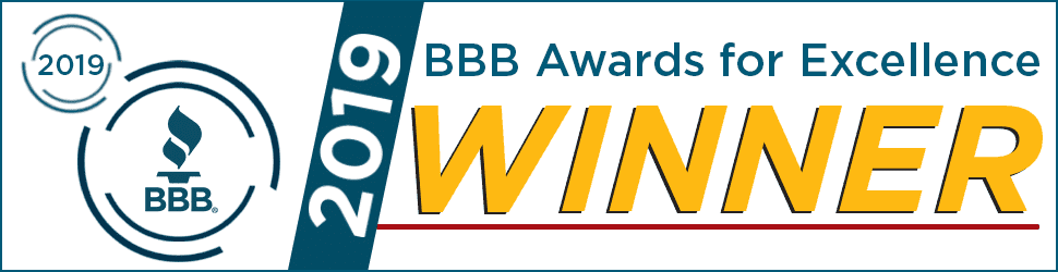 2019 BBB Award for Excellence Winner