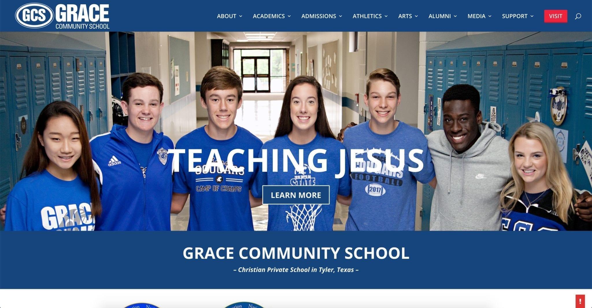 Grace Community School Website